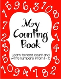 My Counting Book: Learn to Read, Write, and Count from 1 - 10