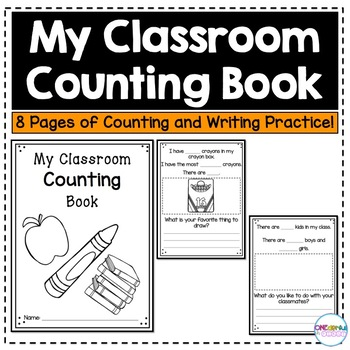 My Classroom Counting Book
