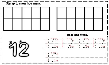 My Counting Book-Numbers 11-20