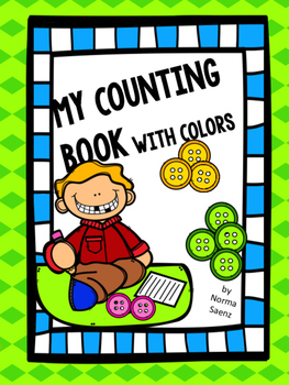 My Counting Book with Colors