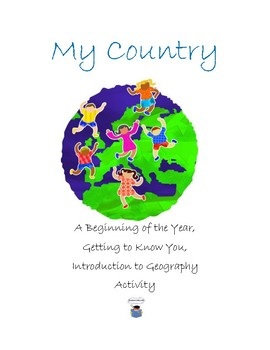 My Country-Beginning of Year Activity