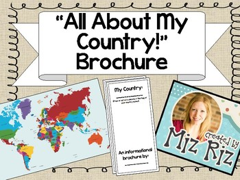 My Country Brochure!