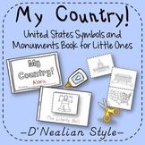 US Symbols and Monuments Book Kindergarten 1st Grade D'Nealian