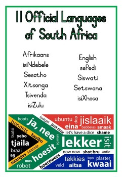 My Country, South Africa