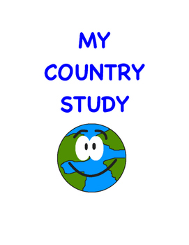 My Country Study - Grade 6 social studies project