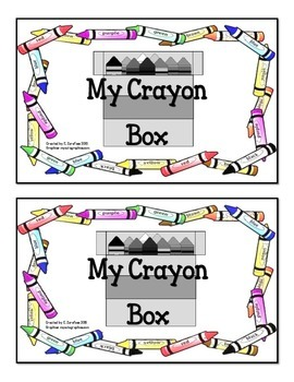 My Crayon Box Emergent Reader