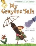 My Crayons Talk! Interactive Read-Aloud Lesson Plan