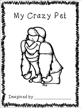 My Crazy Pet Book- A Write and Draw Activity Book