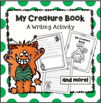 My Creature Book- A Write and Draw Activity Book