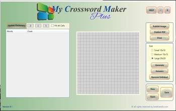 My Crossword Maker Plus