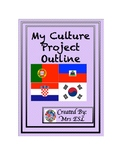 My Culture Project Outline