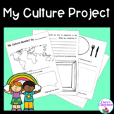 My Culture Project for Social Studies and Multicultural Classrooms