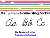 My Cursive Handwriting Packet