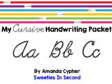My Cursive Handwriting Packet