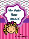 My Cute Bow Award