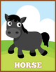 My Cute Farm Flash Cards