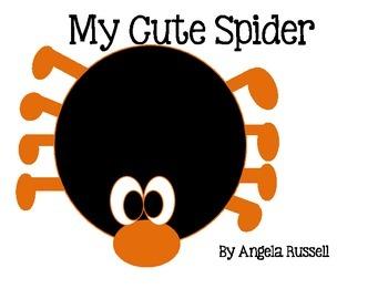 My Cute Spider - Halloween Craft