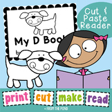 Phonics Printable Reader - My D Book - Print Cut Make and READ