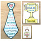 ♥♥ Father's Day Activity Pack: writing tasks and card templates ♥♥ $1 DEAL