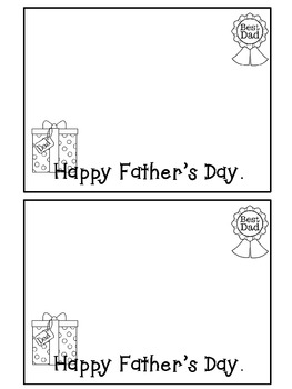 My Dad A Father's Day Reader {Freebie}