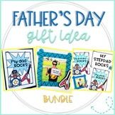 My Dad Rocks Father's Day Booklet and Picture Frame Craft Bundle