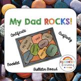 Father's Day Craft - My Dad Rocks!  Rock Garden Activity
