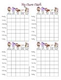 My Daily Chore Chart - GIRL