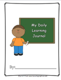 My Daily Learning Journal (Without Behavior Indicator)-I C