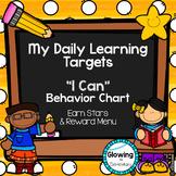 I Can Statements: Behavior