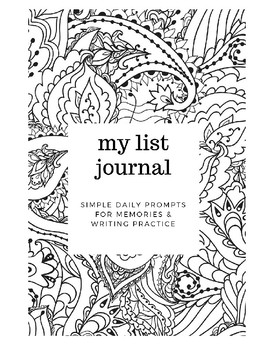 My Daily List Journal (Mini)