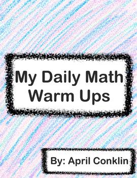 My Daily Math Warm Ups