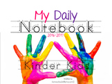 My Daily Planner 2016-2017 - Kinder Kids