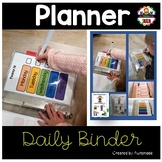 Daily Planner Binder - Back to School for Kids with Autism