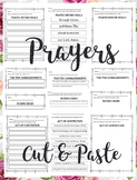 My Daily Prayers {Cut and Paste}