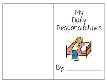 My Daily Responsibilities Printable Book