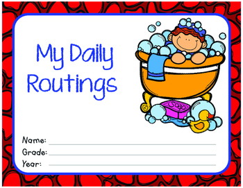 My Daily Routings Workbook