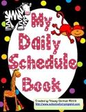 My Daily Schedule Book