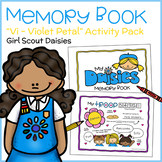 "My Daisies Memory Book - Girl Scout Daisies - ""Vi - Violet Petal"" (Step 3)"