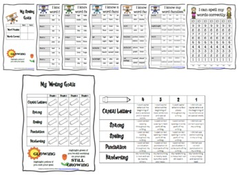My Data Notebook {keeping students accountable} with EDITABLE TEMPLATES
