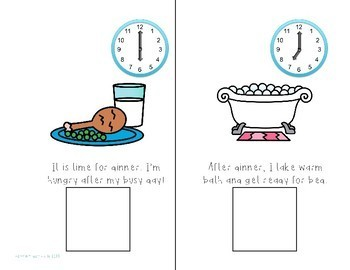 My Day Interactive Books About Time