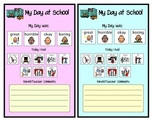 My Day at School Was...- Communication from School to Home