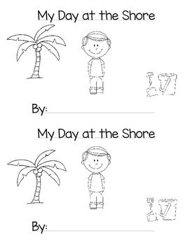 My Day at the Shore: Mini Book: Digraph sh