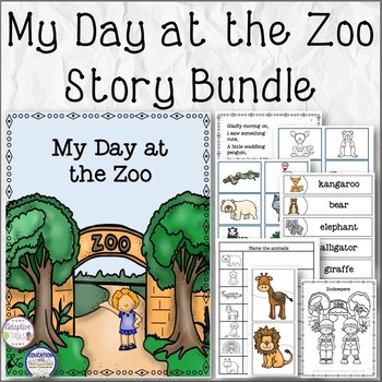 My Day at the Zoo Story Bundle