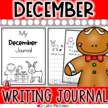 My December Writing Journal (prompts include Christmas, snow, winter)