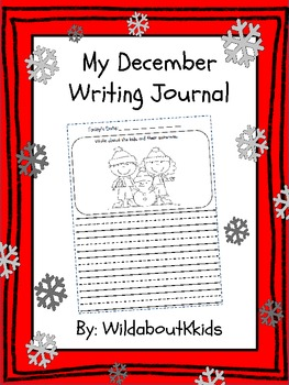 My December Writing Journal