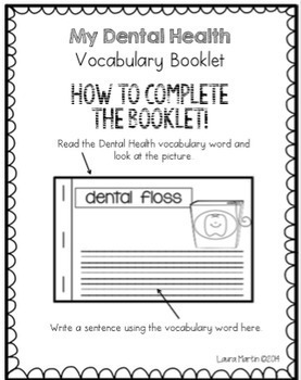 Dental Health Vocabulary