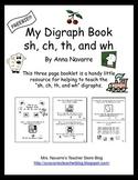 My Digraph Book - FREEBIE!
