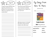 My Diary From Here To There Trifold - Treasures 4th Grade Unit 1 Week 1 (2011)