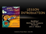 My Diary From Here to There - Lesson Introduction