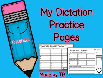 My Dictation Practice Pages